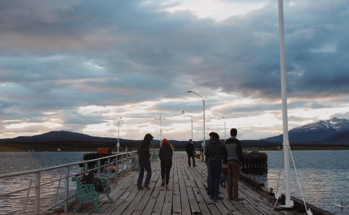 Dusk, Puerto Natales